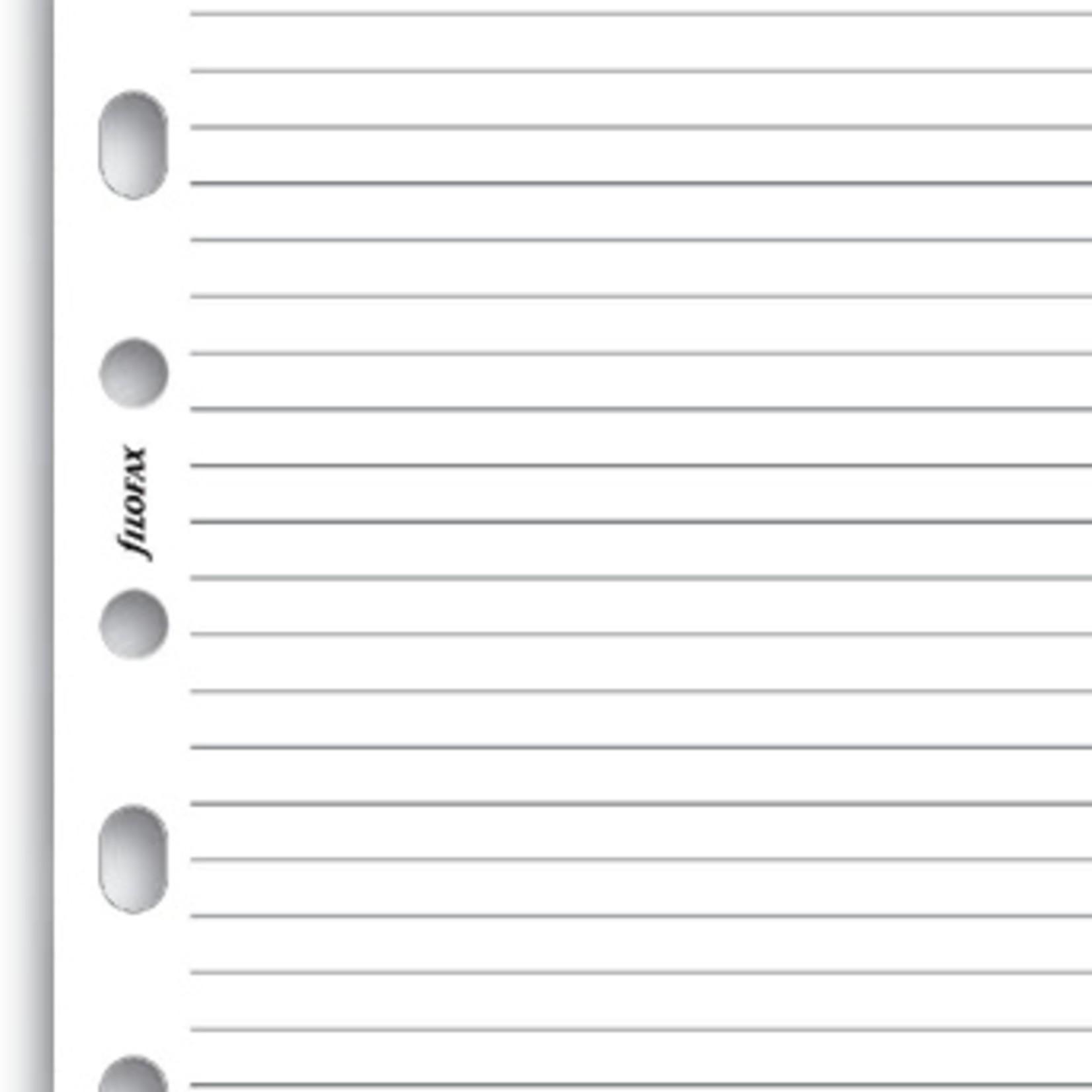 Filofax Filofax Einlage Pocket, Block liniert, weiß