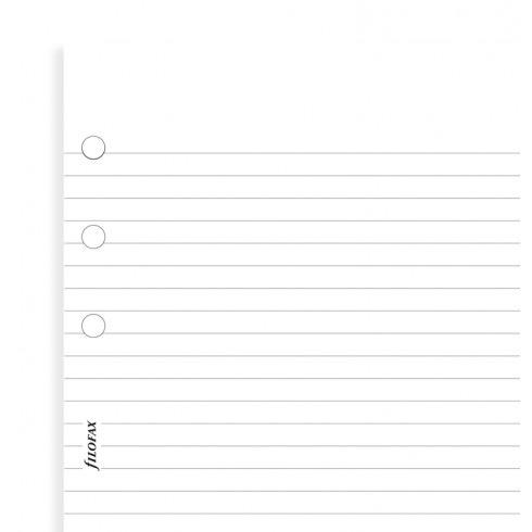 Filofax Filofax Einlage Pocket, Papier liniert, weiß