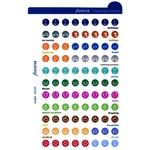 Filofax Filofax Einlage Pocket, Stickers, mehrfarbig