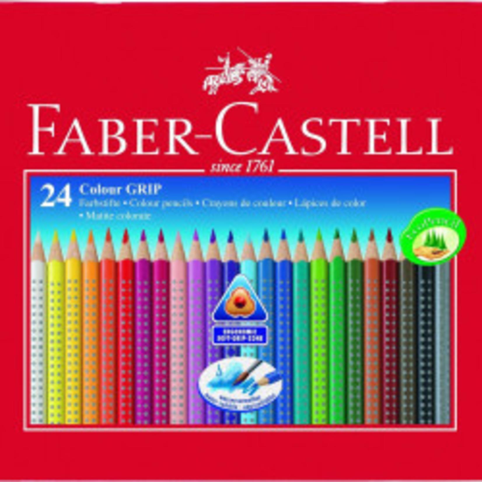 Faber-Castell Col.Grip 2001 Farbst.24er Meta