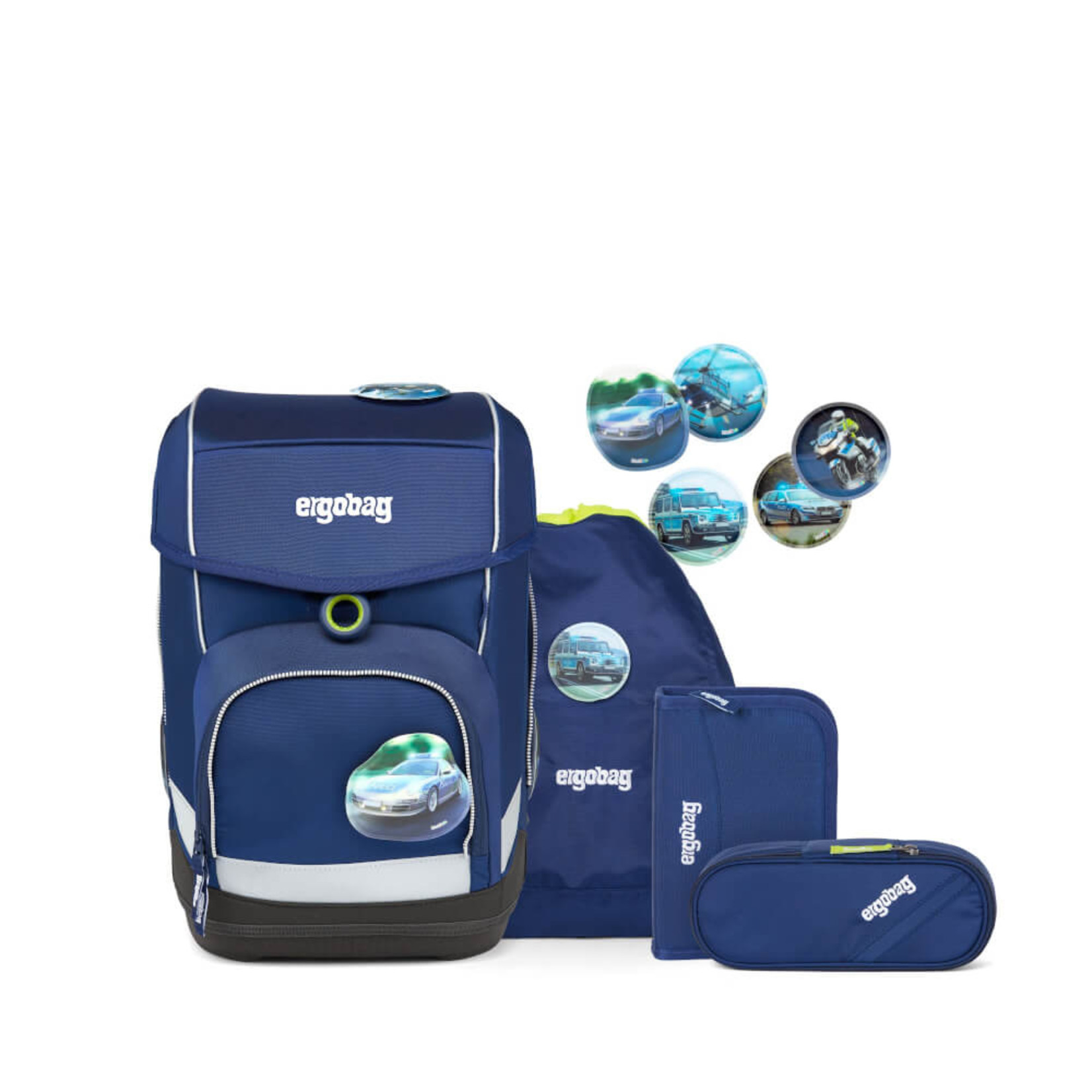 ERGOBAG ergobag cubo Schulranzen-Set BlaulichtBär