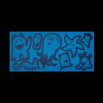 ERGOBAG ergobag Reflexie-Sticker Set  Blau