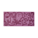 ERGOBAG Reflexie-Sticker Set  Lila
