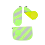 ERGOBAG ergobag Zip-Sets mit Reflektorstreifen grün