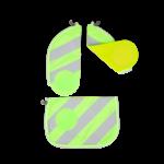 ERGOBAG Zip-Sets mit Reflektorstreifen