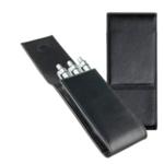 Lamy Etui für 3 Schreibgeräte - schwarz - feinstes Nappaleder