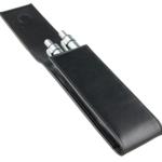 Lamy Etui für 2 Schreibgeräte - schwarz - weiches Echtleder