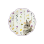 Talking Tables Paper plates bunny