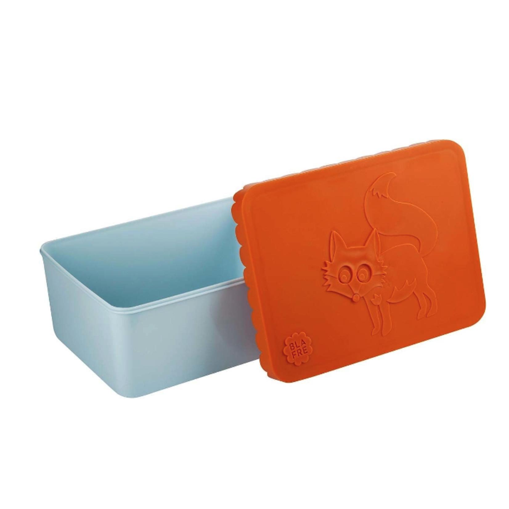BLAFRE Bunte Brotdose von Blafre in orange und hellblau