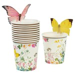 Talking Tables TRULY FAIRY CUPS WITH BUTTERFL