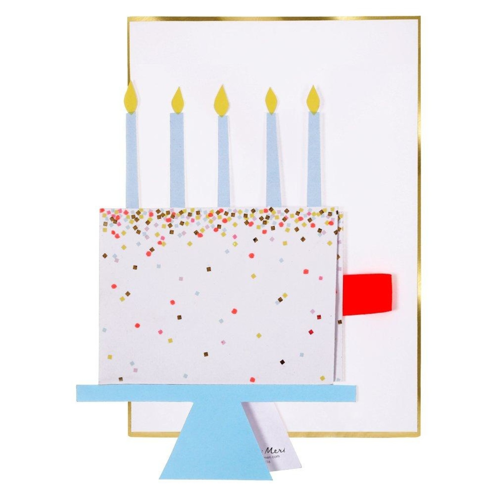 Talking Tables Cake Slice Stand-up Card
