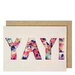 Talking Tables Yay Confetti Shaker Card