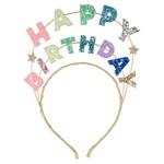 Talking Tables Happy Birthday Glitter Headban