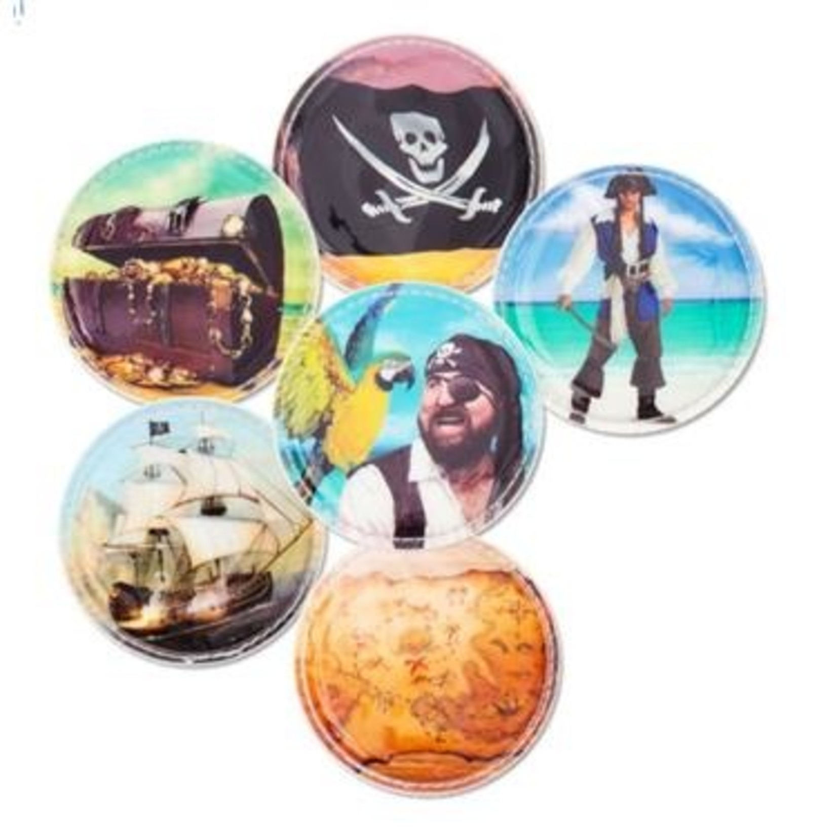 ERGOBAG ergobag Klettie-Set Piraten