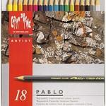 Caran d'Ache Farbstifte PABLO Metallschacht