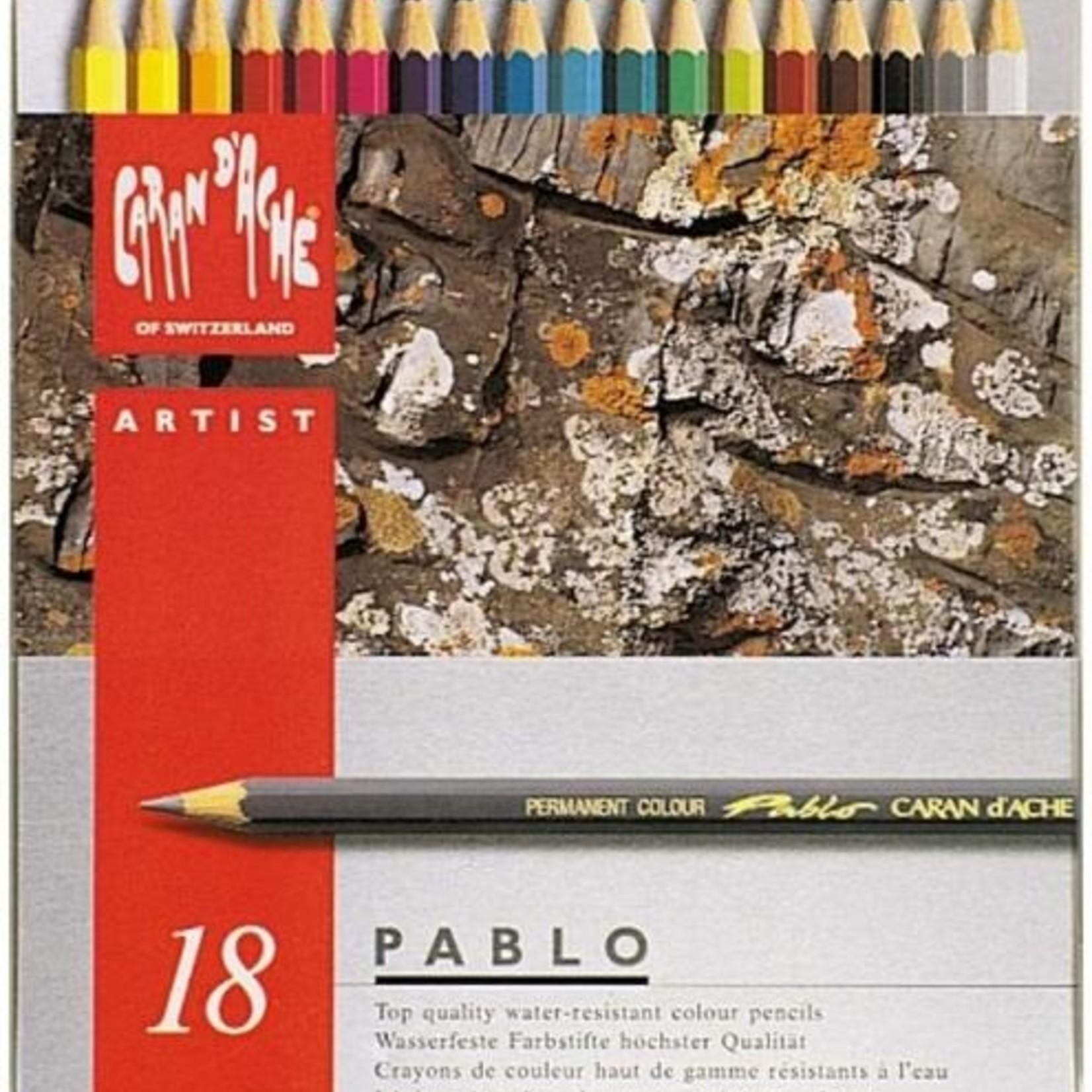 Caran d'Ache Caran d´Ache Pablo Künstlerfarbstifte 18