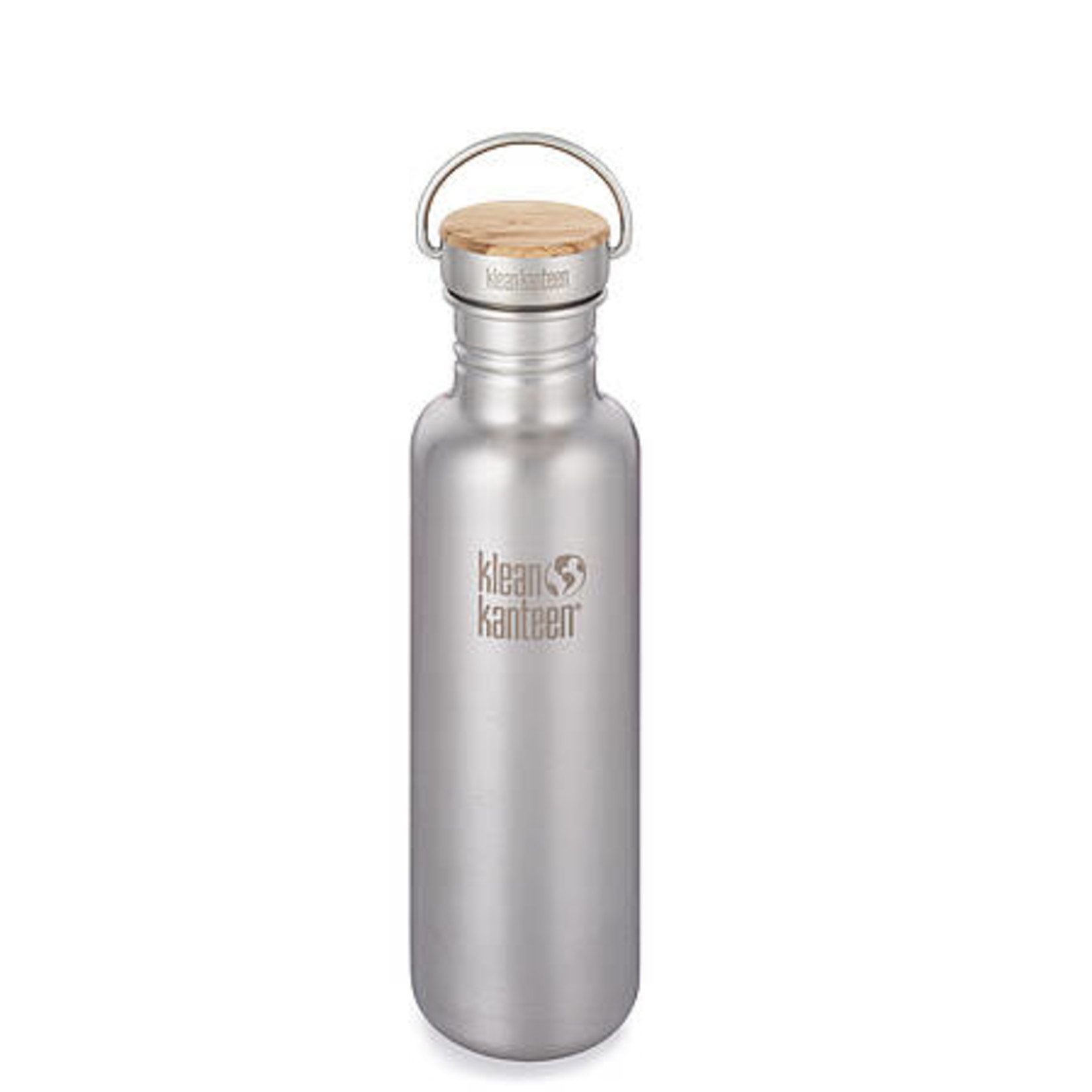 Klean Kanteen Clean Canteen Reflect mit Bamboo Cap Brushed Stainless 800 ml
