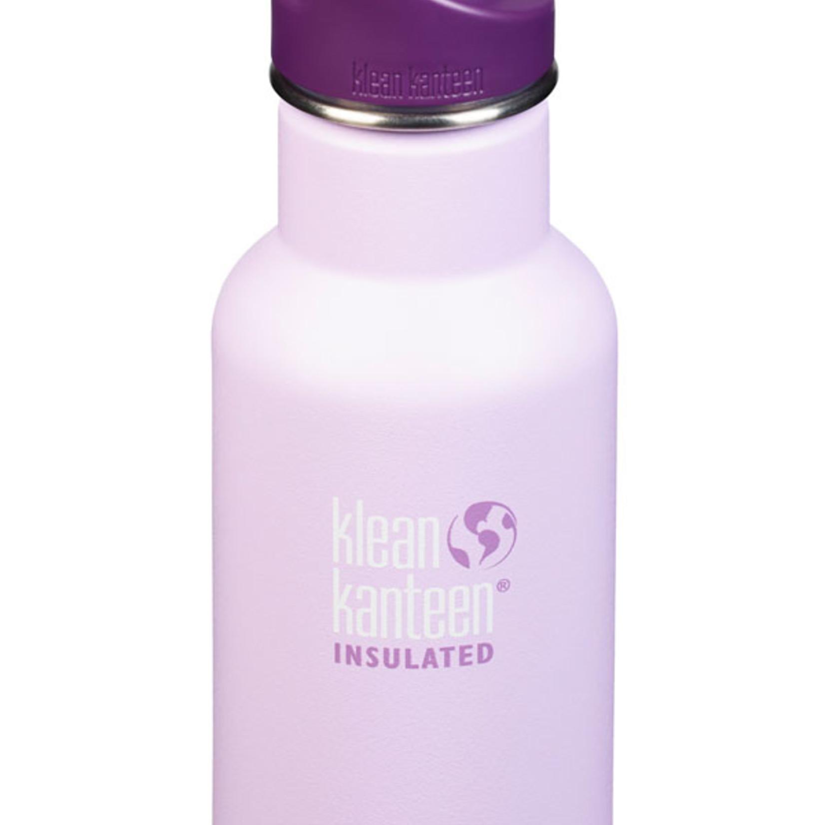 Klean Kanteen Edelstahlflasche KID KANTEEN Insulated 355ml Sugarplum Fairy matt/ Sport Cap