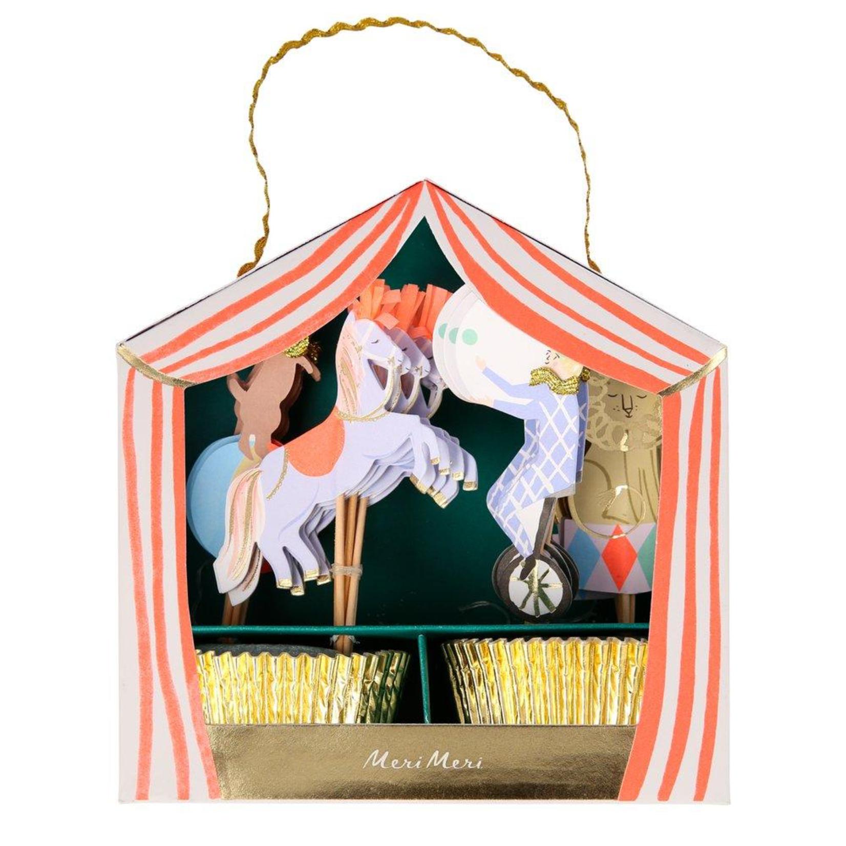 Meri Meri Circus Parade Cupcake Kit