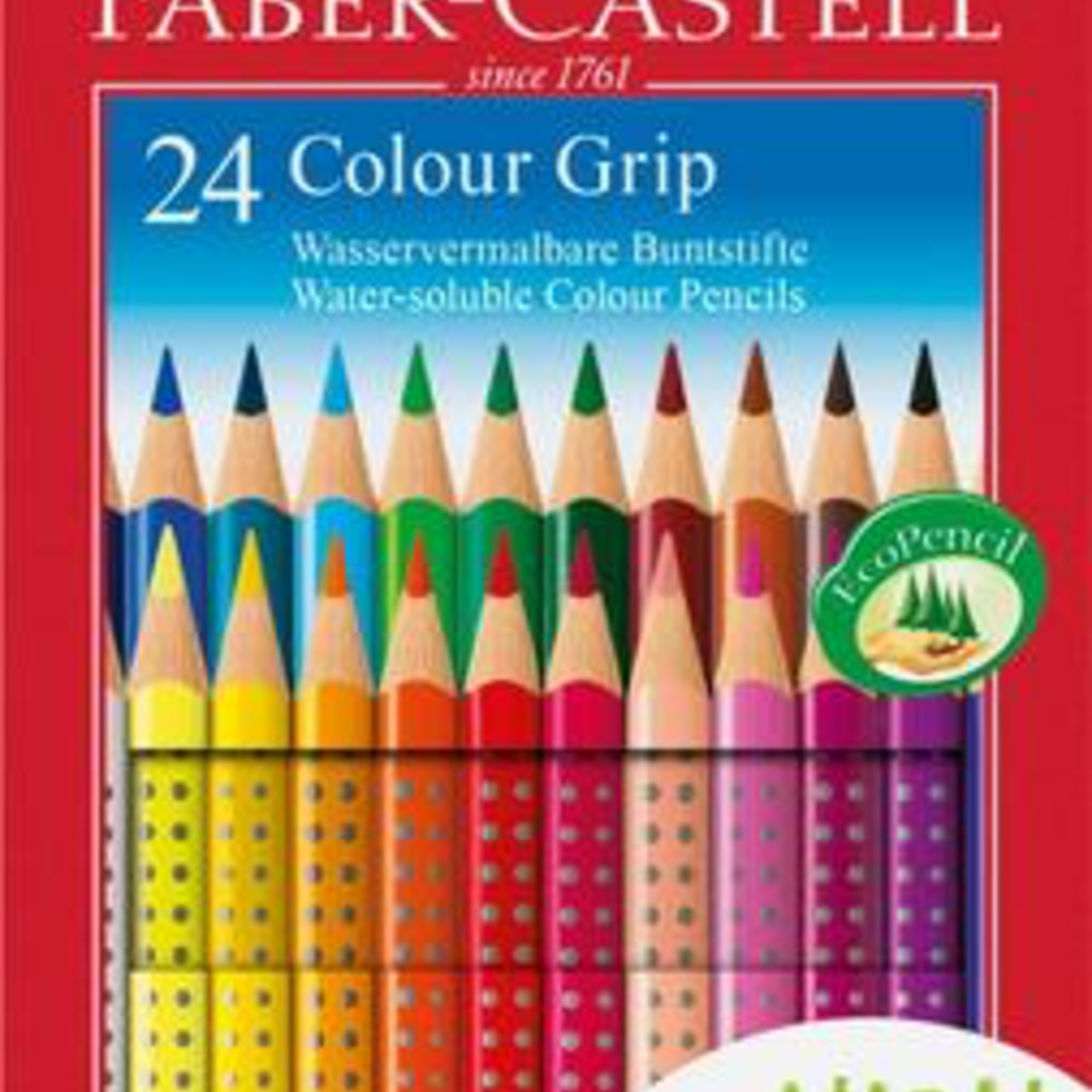 Buntstift Colour Grip 24er