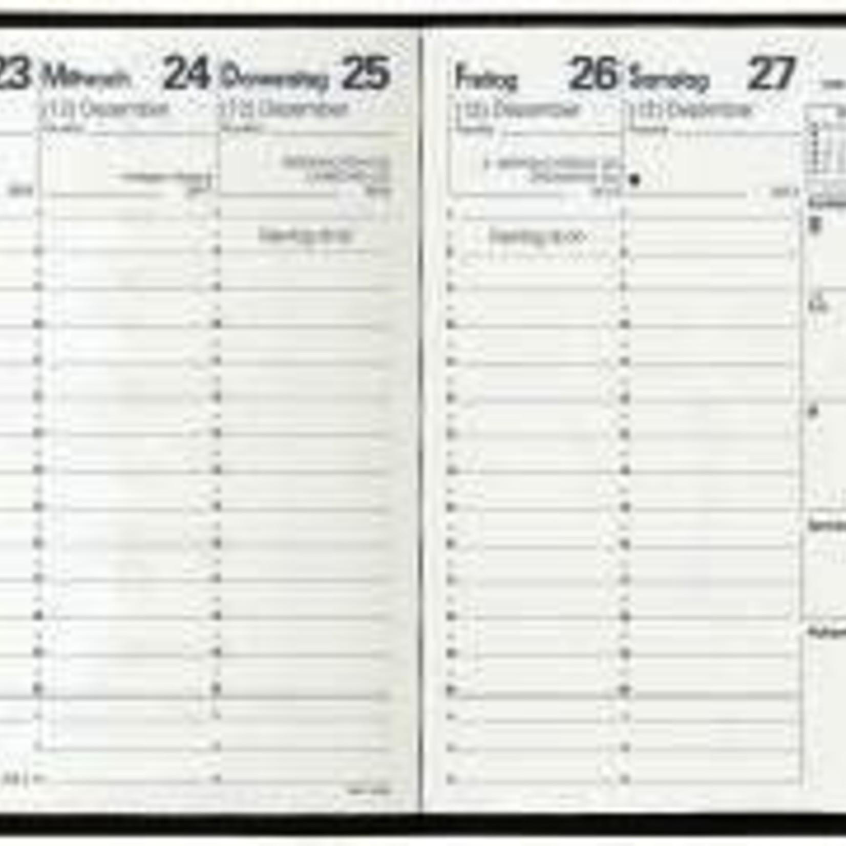 Quo Vadis EXECUTIF IMPALA Kalender schwarz 16x16 1W/2S PVC