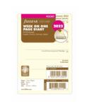 Filofax PKT 1W/1S cotton cr.(M) 2022