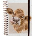 Wrendale Design Moooo Spiral Bound Notebook