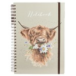 Wrendale Design Daisy Coo A4 Spiral Bound Note