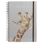 Wrendale Design Flowers A4 Spiral Bound Notebo
