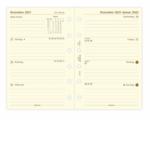 Filofax PKT 1W/2S cotton cr.(D)2022