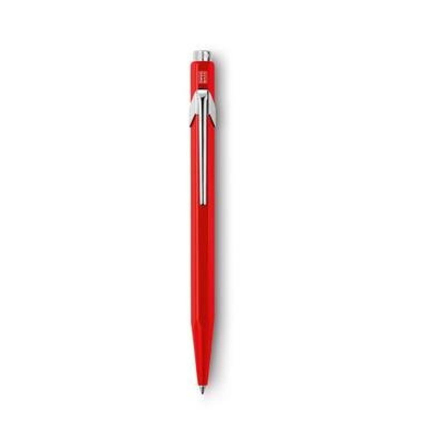 Caran d'Ache 849 Kugelschreiber lose lackiert rot