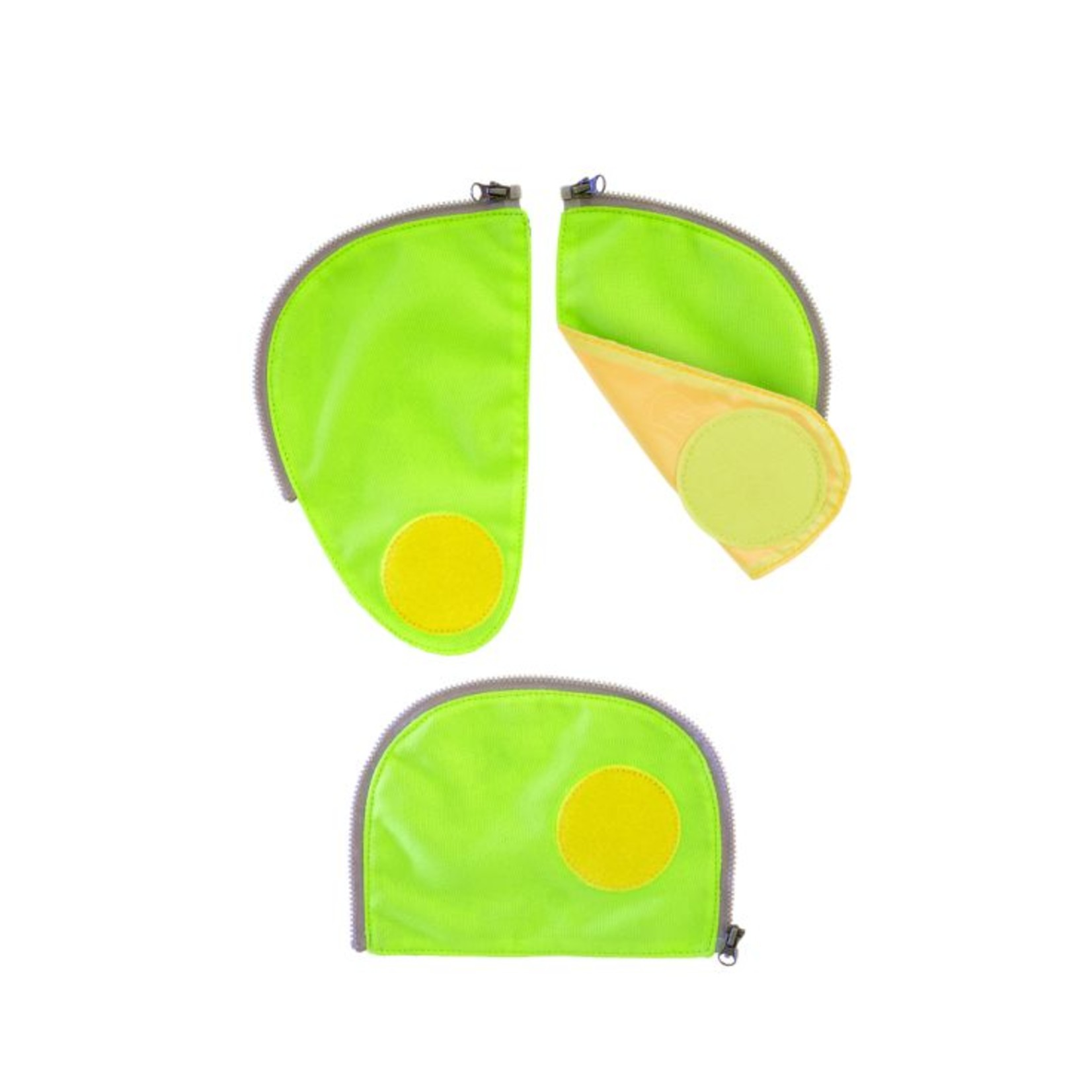 Ergobag Sicherheitsset 3tlg., grün