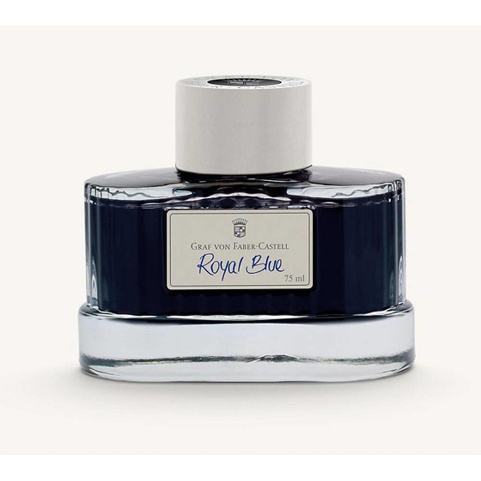 Graf von Faber-Castell GvFC Tintenglas 75ml Royal Blue