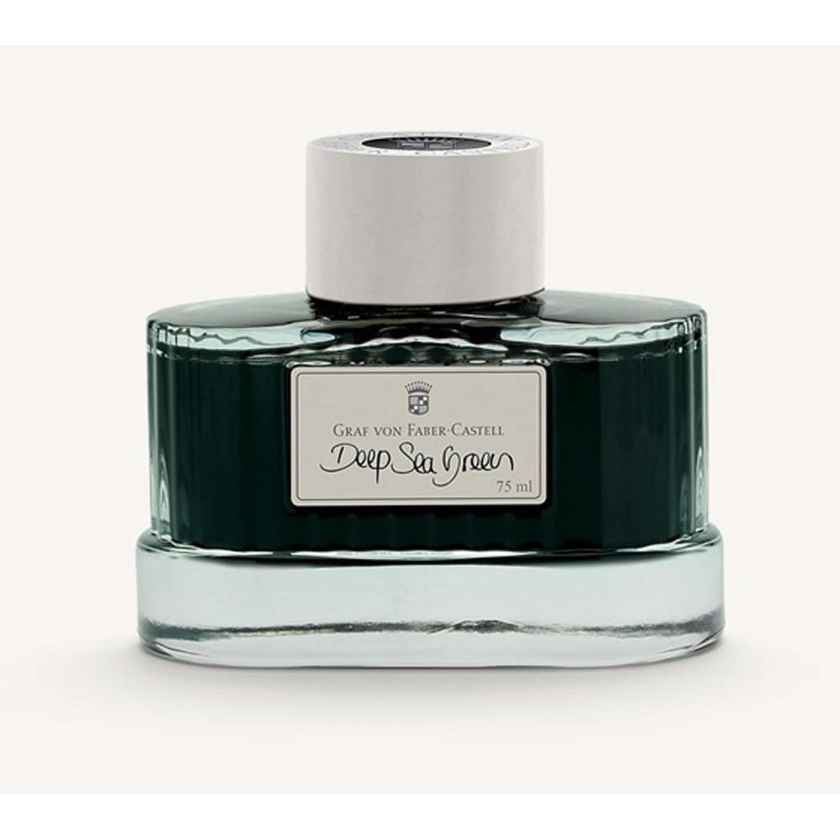 Graf von Faber-Castell GvFC Tintenglas 75ml Deep Sea Green