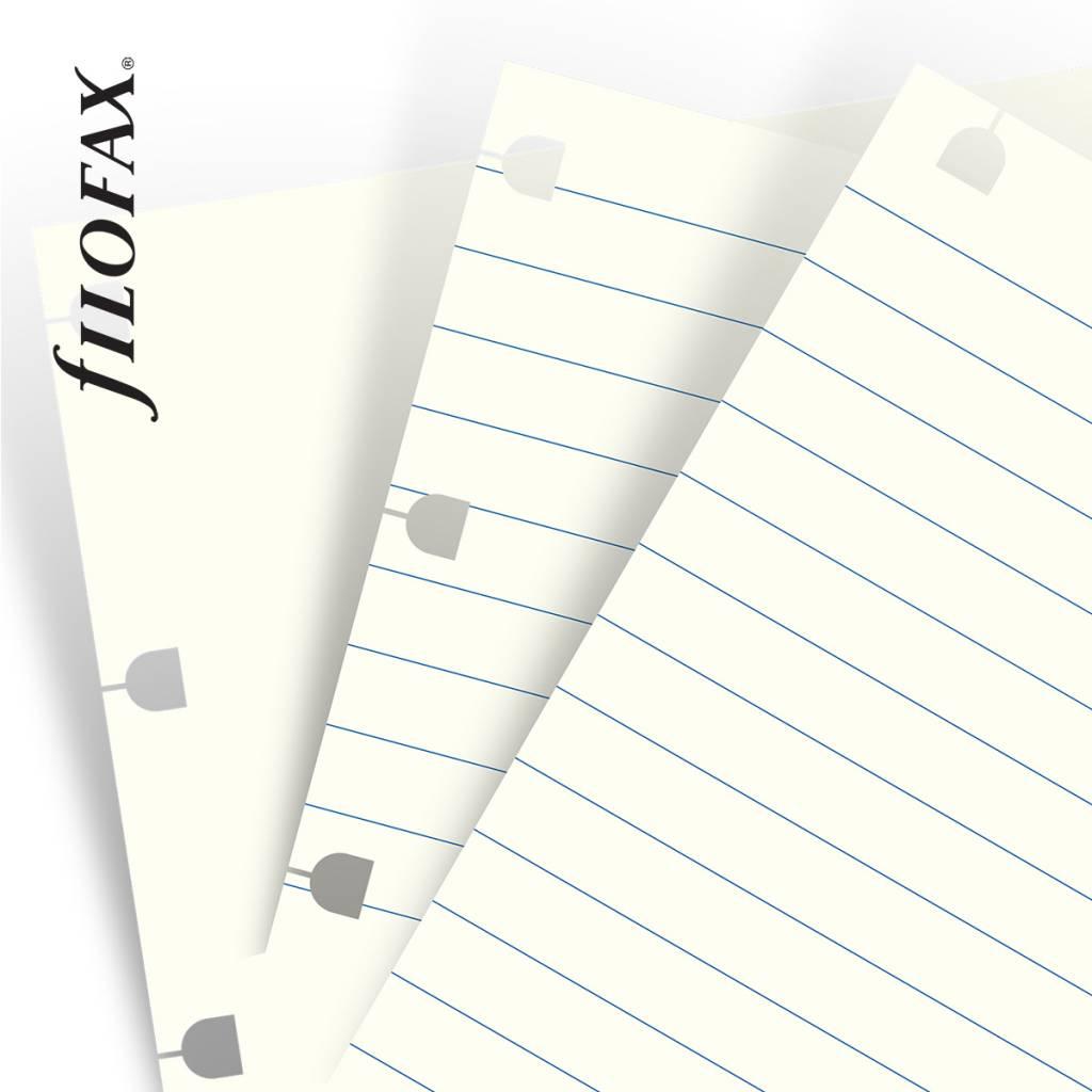 Filofax SMART NOTEBOOK REFILL white assorted