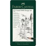 Faber-Castell Faber Castell Design Set 12 Bleistifte 5B-5H