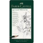 Faber-Castell Faber Castell 9000 Art Set 12 Bleistifte 8B-2H