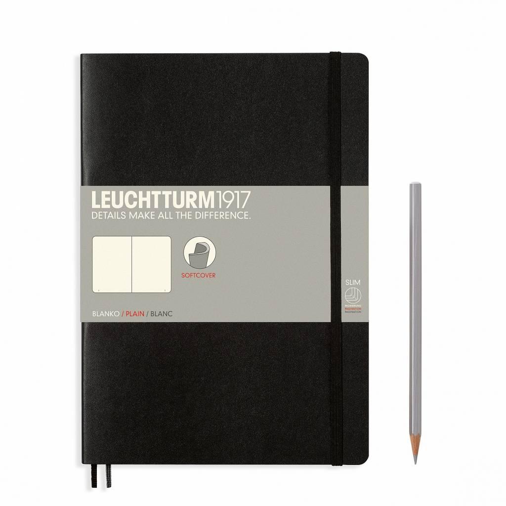 Leuchtturm1917 Notizbuch COMPOSITION B5 SC schwarz dotted
