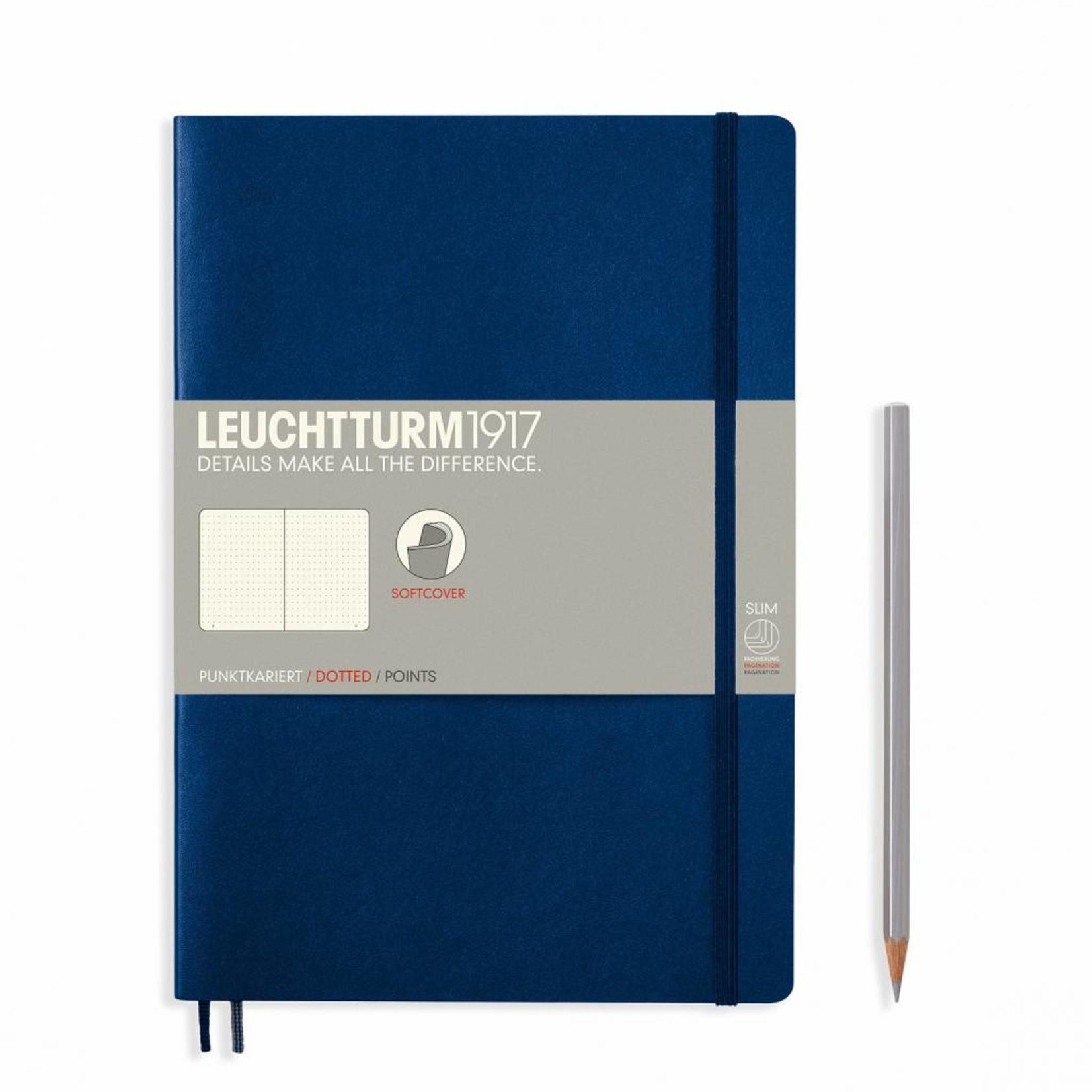 Leuchtturm1917 Notizbuch COMPOSITION B5 SC marine liniert