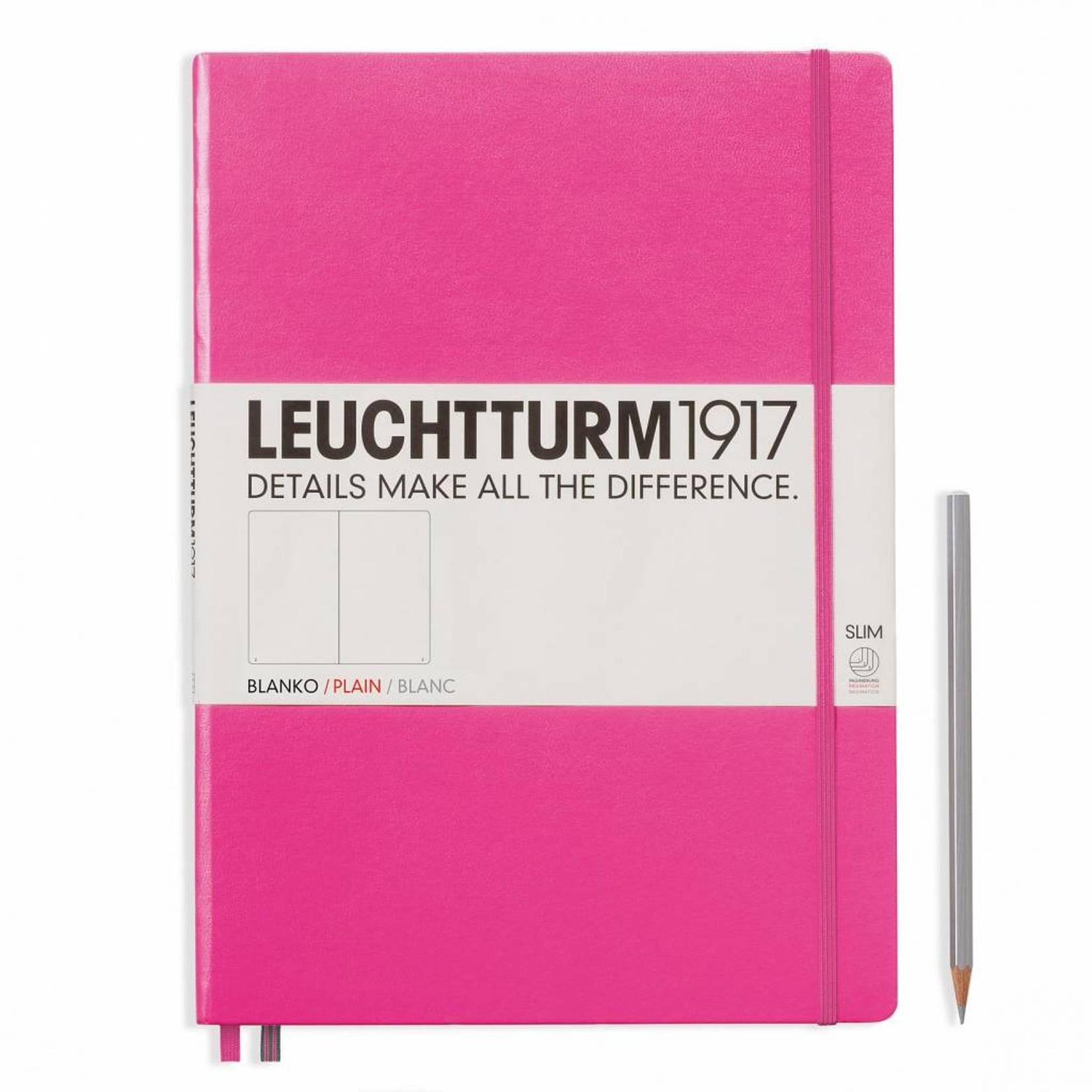 Leuchtturm1917 LT Notizbuch A4 MASTER SLIM New Pink liniert