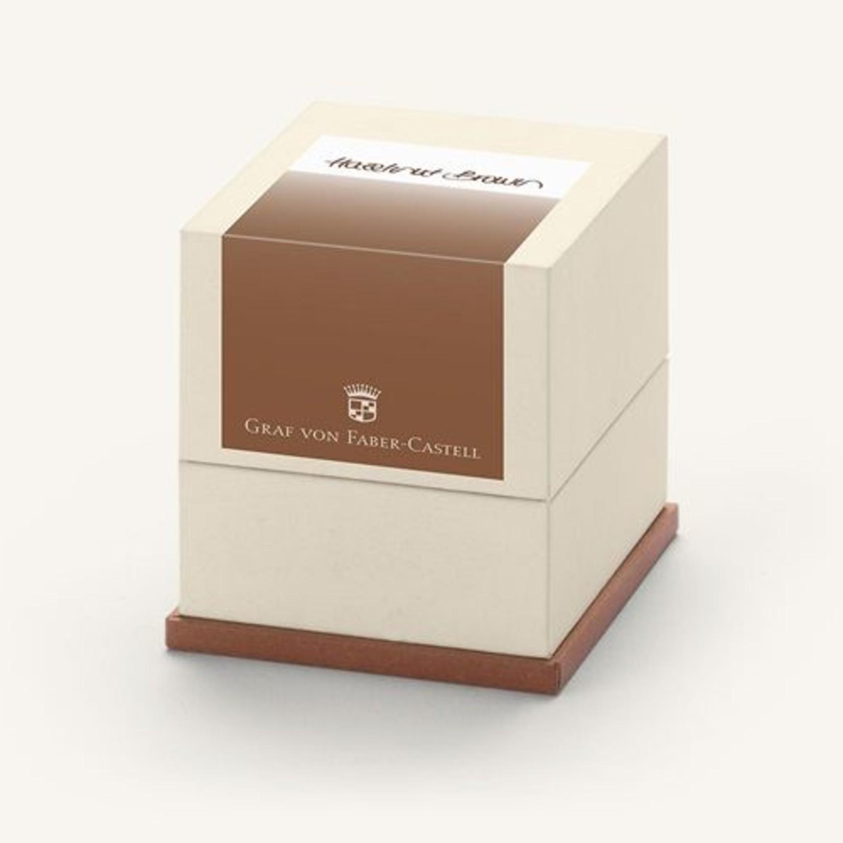 Graf von Faber-Castell Tintenpatronen Geschenkpackung Hazelnut Brown 20x
