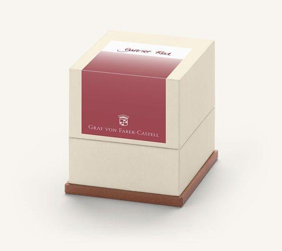 Graf von Faber-Castell Tintenpatronen Geschenkpackung Garnet Red 20x