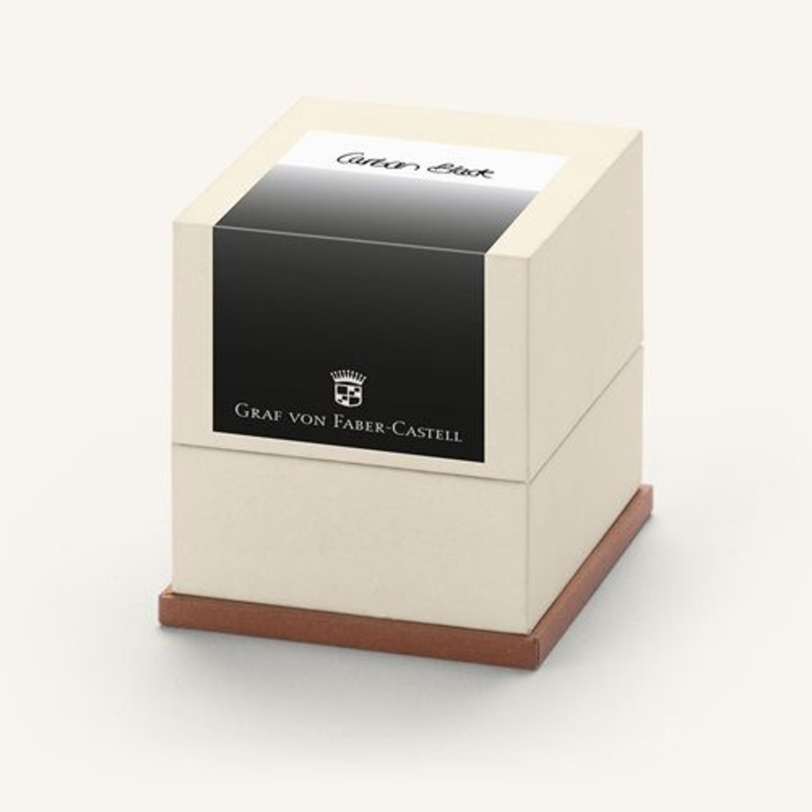 Graf von Faber-Castell Tintenpatronen Geschenkpackung Carbon Black 20x