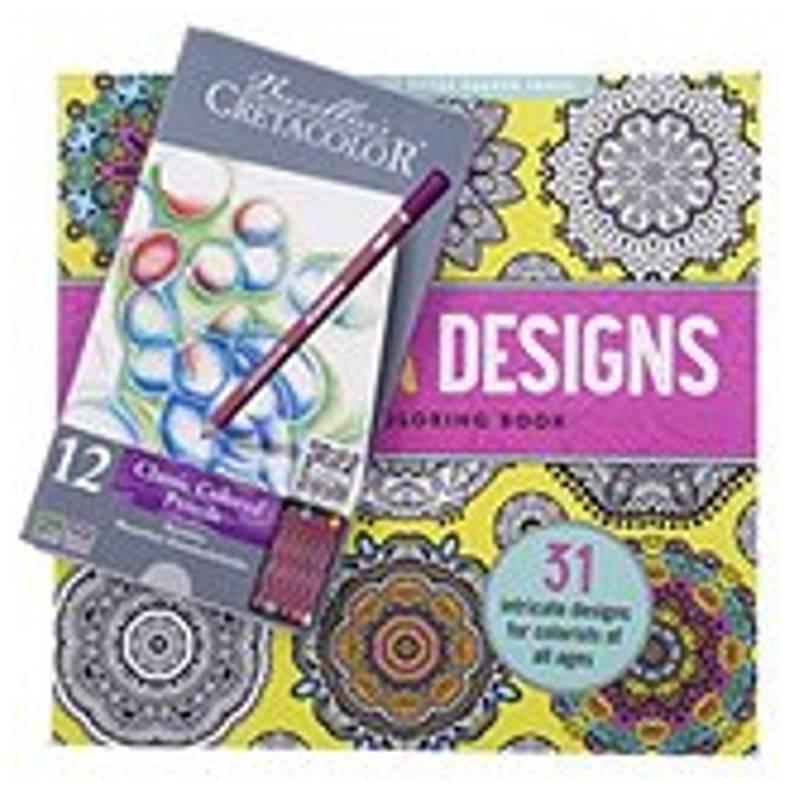 "Brevillier-Urban Cretacolor Karmina 12er + Ausmalbuch ""Mandala"""