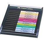 Faber-Castell Tuschest,PIT artist pen B 12er Pastell