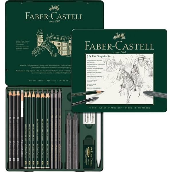 Faber-Castell Set PITT Graphit medium Metalletui