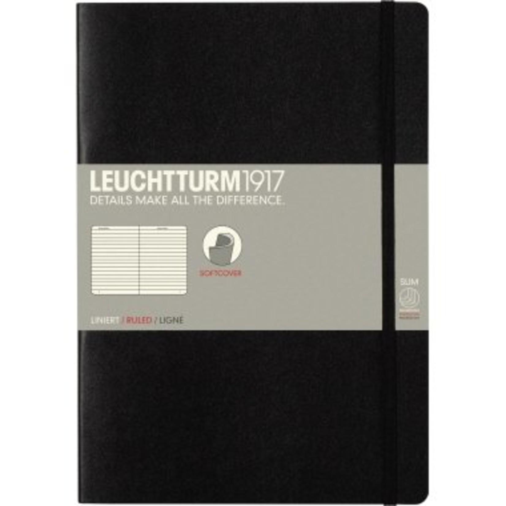 Leuchtturm1917 Notizbuch COMPOSITION B5 SC schwarz liniert