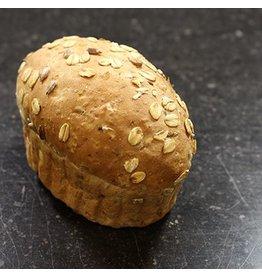 Verwenbroodje licht meergranen 130 gram 90% gebakken BAD0602