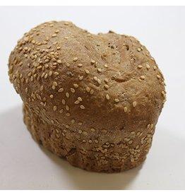 Verwenbroodje donker meergranen 130 gram 90% gebakken BAD0601