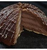 Chocolade boltaart 12 punts